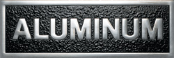 Polished Aluminum Plaque