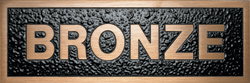 Satin Bronze Plaque