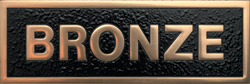 Polished Bronze Plaque