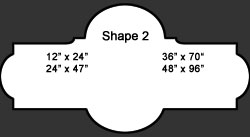 Standard Wall Shape 2