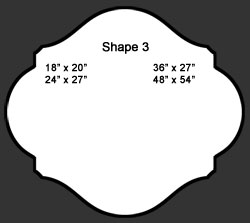 Standard Wall Shape 3