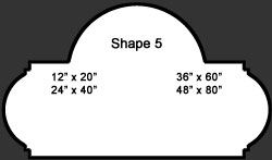 Standard Wall Shape 5