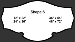Standard Wall Shape 6