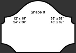 Standard Wall Shape 8